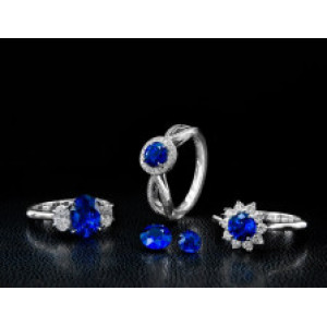 Color Change Sapphire Gemstone Compared To Alexandrite Stones
