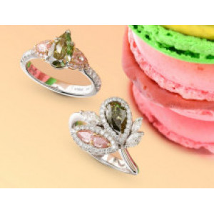 Rare Green Diamonds