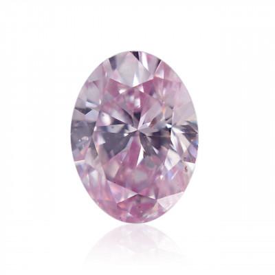 0.15 carat, Fancy Intense Purplish Pink Diamond, 7PP, Oval Shape, SI2 Clarity, ARGYLE & GIA