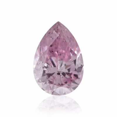 0.15 carat, Fancy Purple Pink Diamond, 6PP, Pear Shape, I1 Clarity, ARGYLE