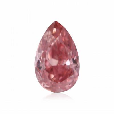 0.15 carat, Fancy Intense Pink Diamond, 2PR, Pear Shape, VS2 Clarity, ARGYLE