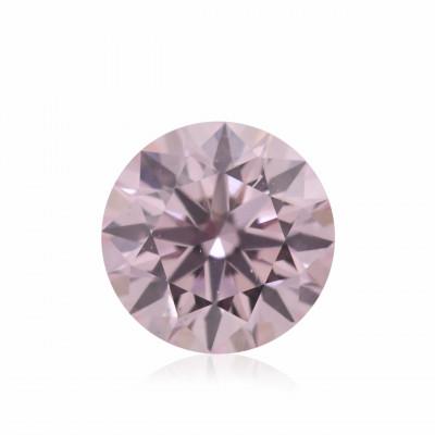 0.15 carat, Fancy Light Pink Diamond, 7PP, Round Shape, VVS1 Clarity, ARGYLE