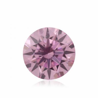 0.10 carat, Fancy Intense Purplish Pink Diamond, 5PP, Round Shape, (SI1) Clarity, ARGYLE
