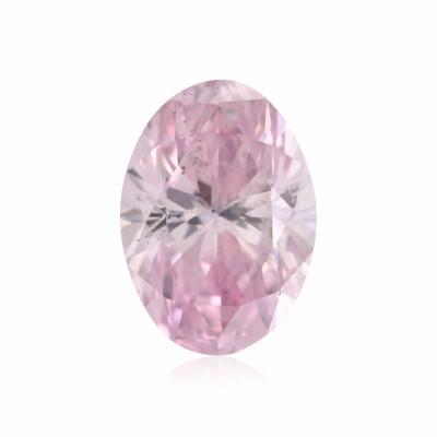 0.15 carat, Fancy Intense Purplish Pink Diamond, 6PP, Oval Shape, SI2 Clarity, ARGYLE