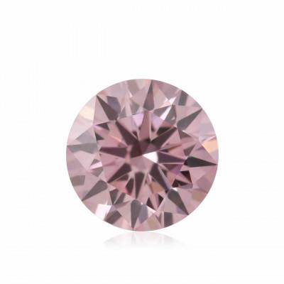 0.14 carat, Fancy Intense Pink Diamond, 6PR, Round Shape, (VS2) Clarity, ARGYLE