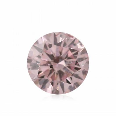 0.14 carat, Fancy Intense Pink Diamond, 6PR, Round Shape, (SI2) Clarity, ARGYLE