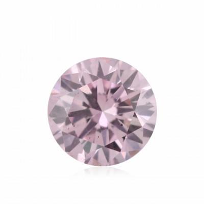 0.09 carat, Fancy Pink Diamond, 7P, Round Shape, (VS-SI) Clarity, ARGYLE