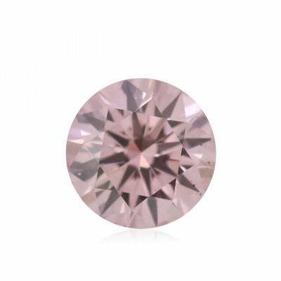 0.09 carat, Fancy Intense Pink Diamond, 6PR, Round Shape, (VS-SI) Clarity, ARGYLE