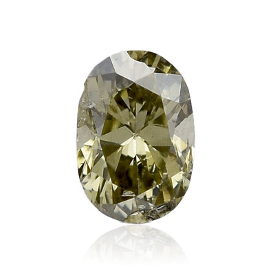 0.11 carat, Chameleon Diamond, Oval Shape, SI2 Clarity, IGI