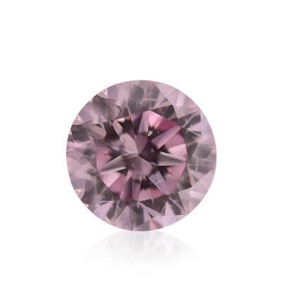 0.15 carat, Fancy Pink Diamond, Round Shape, SI2 Clarity, GIA