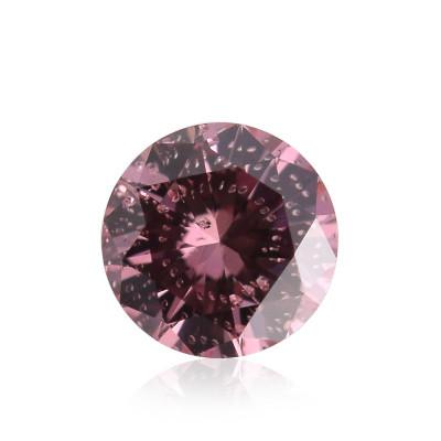 0.15 carat, Fancy Intense Pink Diamond, 3PR, Round Shape, (SI2) Clarity, ARGYLE & GIA