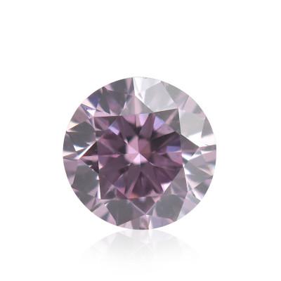 0.11 carat, Fancy Intense Pink Diamond, 6PP, Round Shape, (SI1) Clarity, ARGYLE