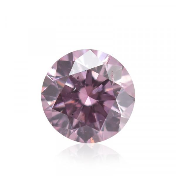 0.08 carat, Fancy Intense Pink Diamond, 6PP, Round Shape, (SI1) Clarity, ARGYLE