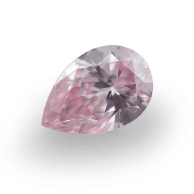 0.15 carat, Fancy Pink Diamond, 6PR, Pear Shape, VS1 Clarity, ARGYLE & GIA