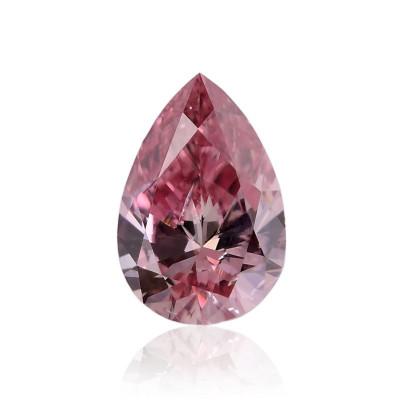 0.15 carat, Fancy Intense Pink Diamond, 4PR, Pear Shape, SI2 Clarity, GIA & ARGYLE