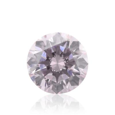 0.15 carat, Fancy Light Pink Diamond, 9P, Round Shape, VS2 Clarity, GIA & ARGYLE