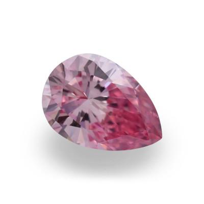 0.15 carat, Fancy Intense Pink Diamond, 4P, Pear Shape, VVS1 Clarity, ARGYLE