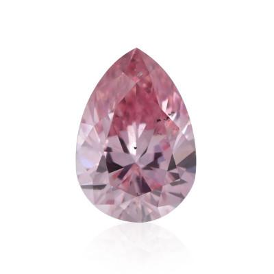 0.15 carat, Fancy Pink Diamond, 6P, Pear Shape, SI2 Clarity, ARGYLE