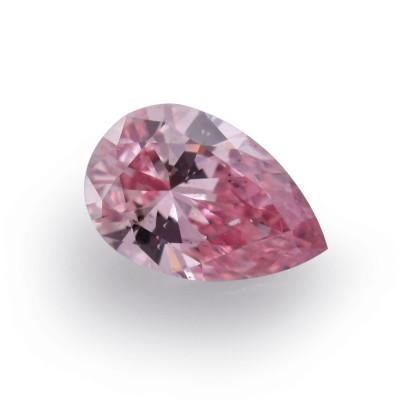 0.15 carat, Fancy Intense Pink Diamond, 5P, Pear Shape, SI2 Clarity, ARGYLE