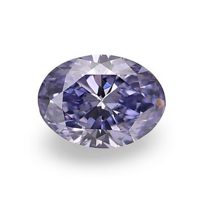 0.11 carat, Fancy Gray Violet Diamond, BL2, Oval Shape, (VS2) Clarity, ARGYLE & GIA