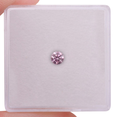 0.15 carat, Fancy Pink Diamond, 6PP, Round Shape, I1 Clarity, ARGYLE
