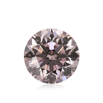 0.15 carat, Fancy Light Pink Diamond, 8P, Round Shape, (SI2) Clarity, ARGYLE