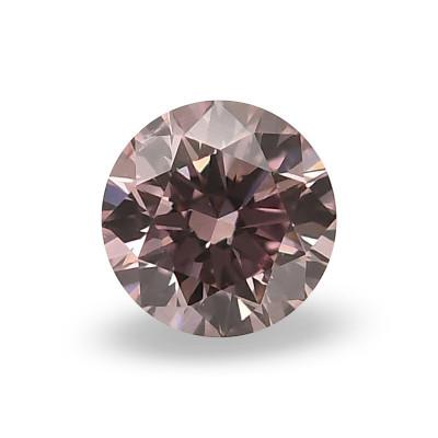 0.15 carat, Fancy Pink Diamond, 7PR, Round Shape, SI2 Clarity, ARGYLE