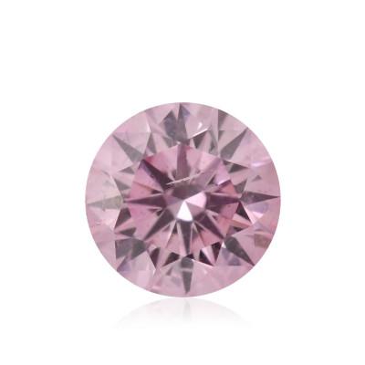 0.10 carat, Fancy Intense Purplish Pink Diamond, 5PP, Round Shape, (I1) Clarity, ARGYLE