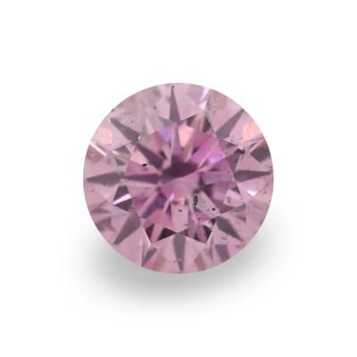 0.14 carat, Fancy Intense Purplish Pink Diamond, 5PP, Round Shape, (SI2) Clarity, ARGYLE