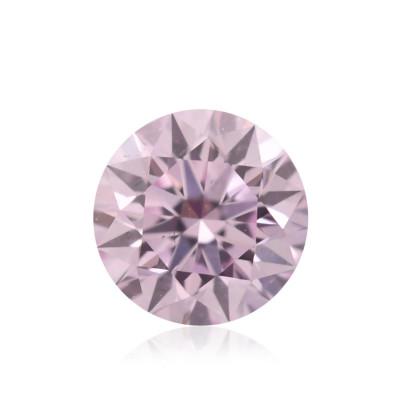 0.15 carat, Fancy Purplish Pink Diamond, 7PP, Round Shape, SI1 Clarity, ARGYLE
