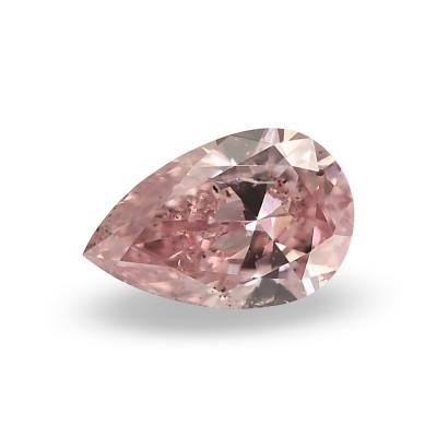0.15 carat, Fancy Intense Purplish Pink Diamond, Pear Shape, SI2 Clarity, GIA