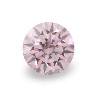 0.15 carat, Fancy Purplish Pink Diamond, 7PP, Round Shape, VS2 Clarity, ARGYLE