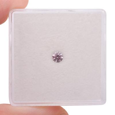 0.11 carat, Fancy Pink Diamond, 7P, Round Shape, (SI1) Clarity, ARGYLE