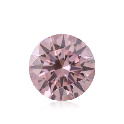 0.13 carat, Fancy Intense Pink Diamond, 6PR, Round Shape, (VS1) Clarity, ARGYLE
