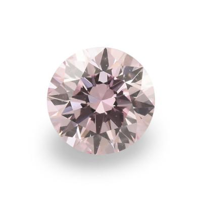0.15 carat, Fancy Light Purple Pink Diamond, 7PP, Round Shape, VS2 Clarity, ARGYLE
