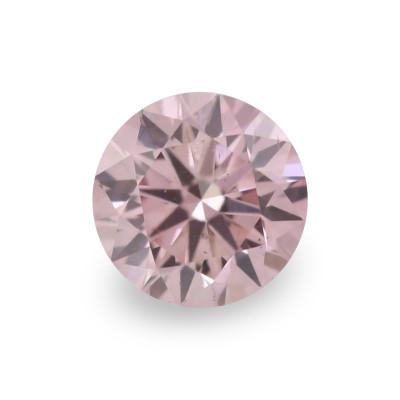 0.10 carat, Fancy Intense Pink Diamond, 6PR, Round Shape, (VS-SI) Clarity, ARGYLE
