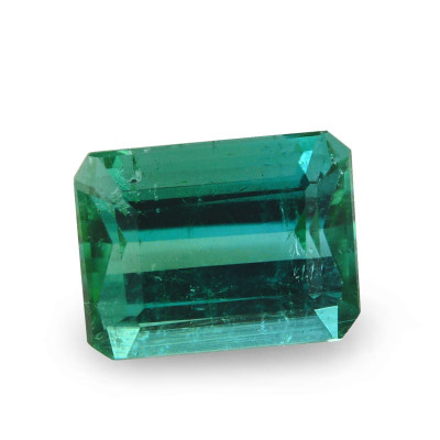 1.78 carat, Green Tourmaline, Emerald Shape