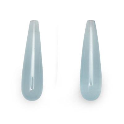 13.29 carat Blue Aquamarine, Pear Shape