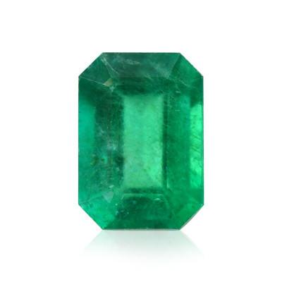 0.97 carat Green, ZAMBIAN Emerald, Emerald Shape