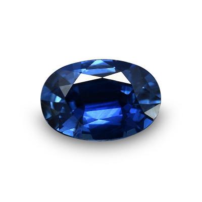 0.57 carat, Blue, Sapphire, Oval Shape