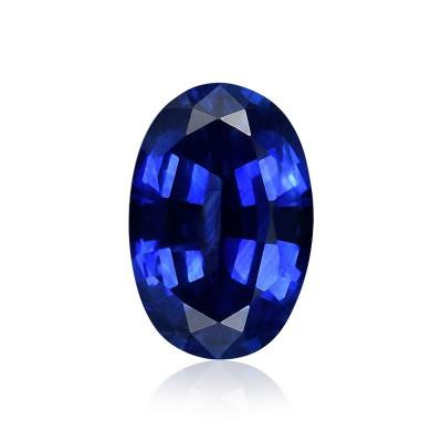 0.62 carat, Blue, Sapphire, Oval Shape