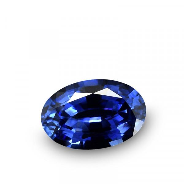 0.52 carat, Blue, Sapphire, Oval Shape