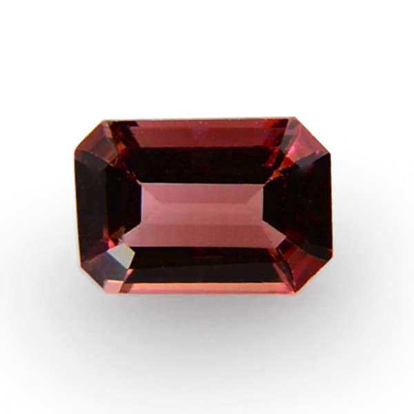 0.77 carat, Pink Tourmaline, Emerald Shape