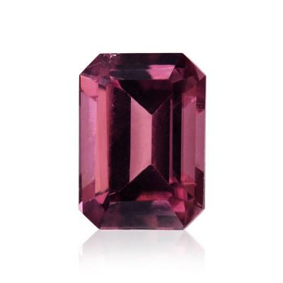 1.04 карат, розовый, турмалин, изумруд форму
