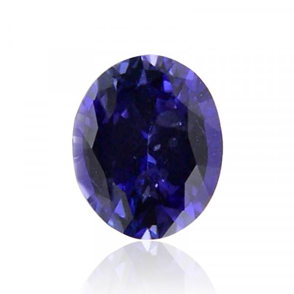0.67 carat, Blue, Sapphire, Oval Shape