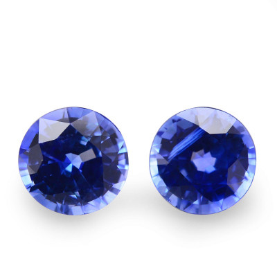 1.60 carat Blue, CEYLON Sapphire, Round Shape