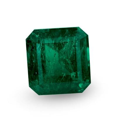 18.85 карат, зеленый замбийский Изумруд, Аквамарин форма