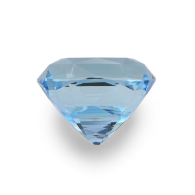 17.05 карат, синий, Аквамарин, формы валика, GWLAB