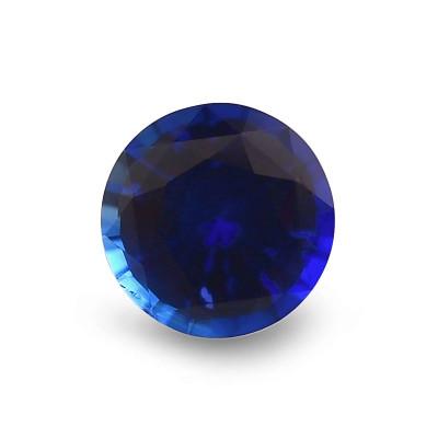 2.29 карат, синий, Шри-Ланки Сапфир, круглой формы