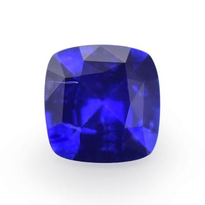 0.92 карат, синий, Шри-Ланки Сапфир, форма подушки